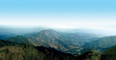 梅岭山脉景区